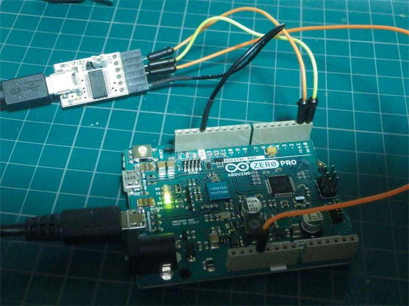 Arduino zero proのシリアルはserial まごころせいじつ堂