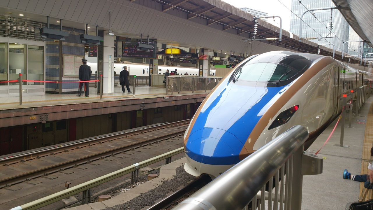 子連れ東京都内☆日帰り~東京駅のホームで間近に新幹線を見よう
