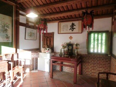 台湾の家の中1