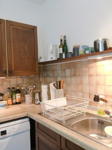 キッチン 水切りラック