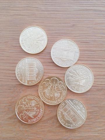 ウィーン金貨 10分の1オンス
