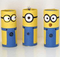 cardboard-tube-minions