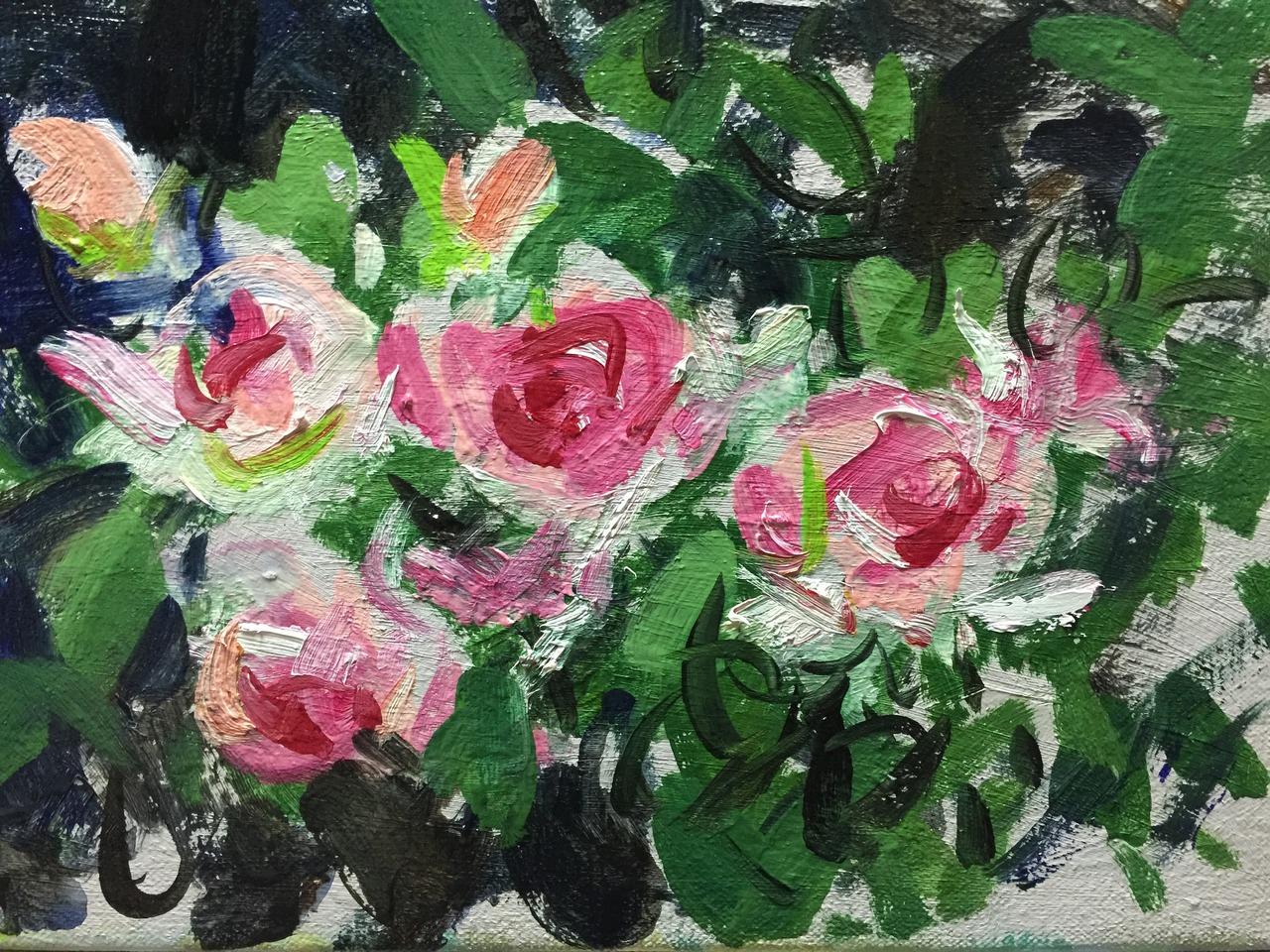 ピンクのバラ P3