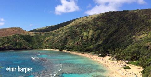 ハワイ ハナウマ湾2