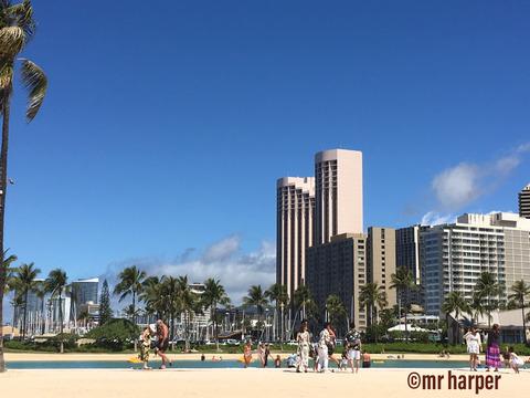 Hawaii Hilton lagoon 5