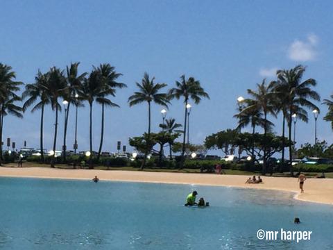 Hawaii Hilton lagoon 2