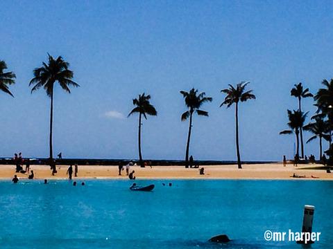 Hawaii Hilton lagoon 3