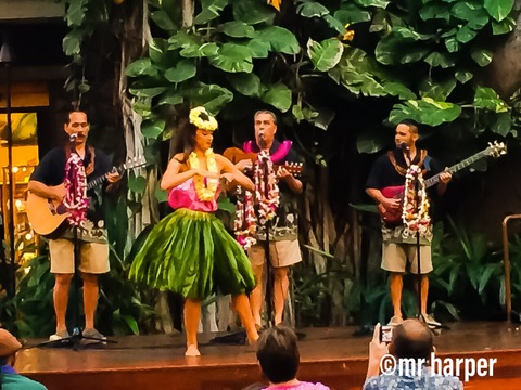 2ハワイ ワイキキ フラダンス