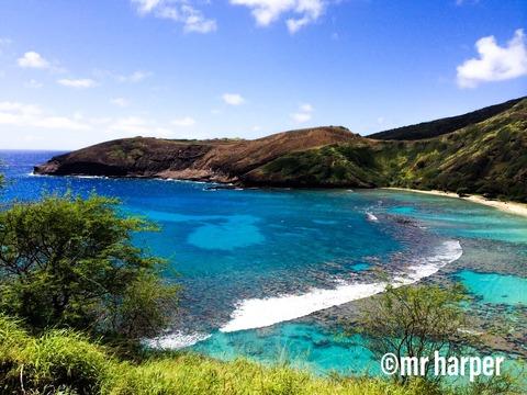 ハワイ ハナウマ湾00