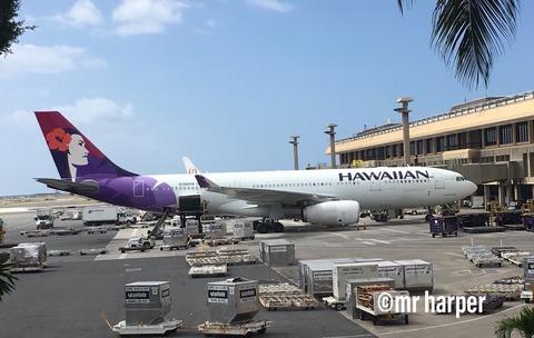 ホノルル ハワイアン航空