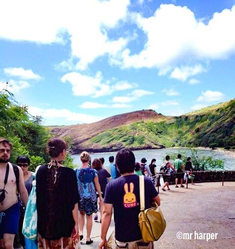 ハワイ ハナウマ湾0