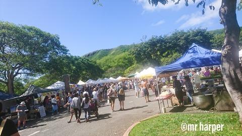 ハワイ KCC ファーマーズマーケット 03