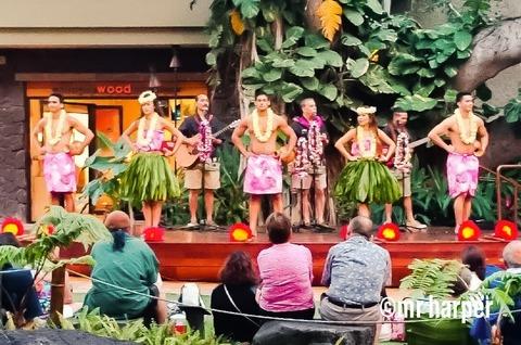 1ハワイ ワイキキ フラダンス
