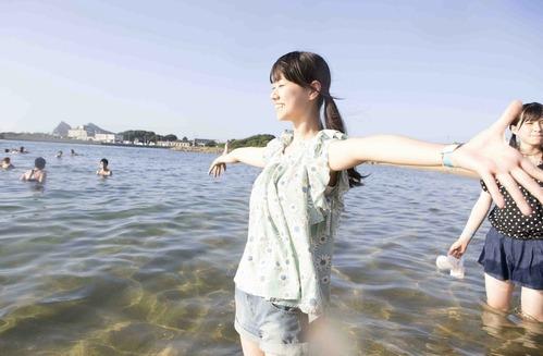糸島半島ロケにて2