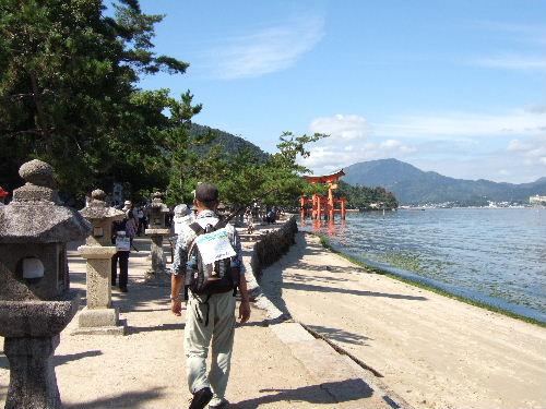 2008-広島厳島神社方向へ