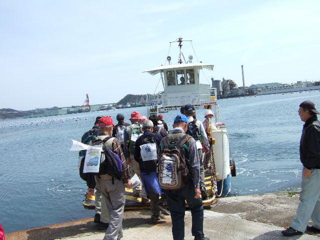 2009-阿波-高島渡船 会場へ