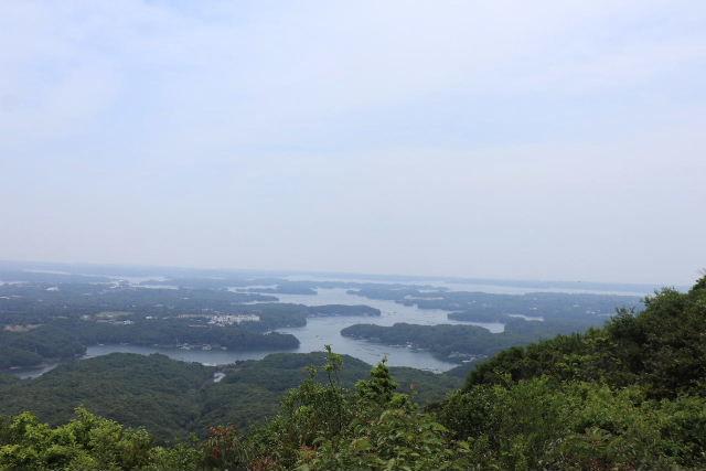 2019-5伊勢-英虞湾の島々 横山展望台から