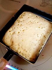 玉子焼きパンで…