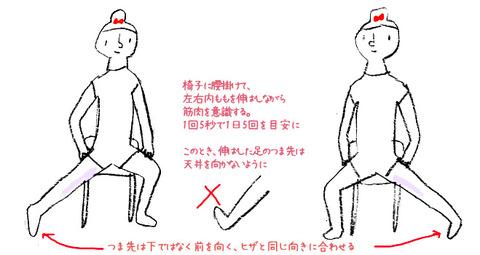 O脚 改善 ストレッチ NHKあさイチ流