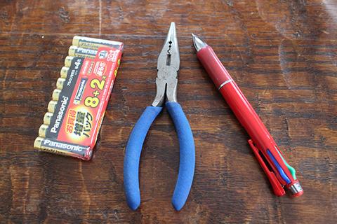 プジョー エリスセンス 電動ミル 電池交換 道具
