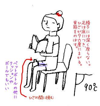 O脚 改善 ストレッチ 椅子