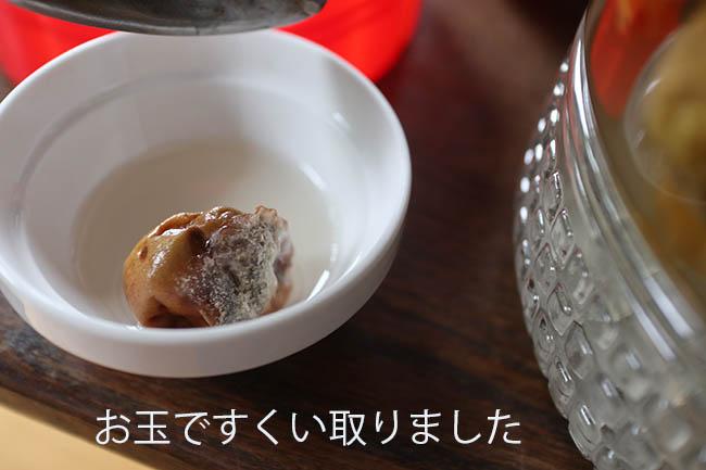 梅シロップ 白カビ発生 画像