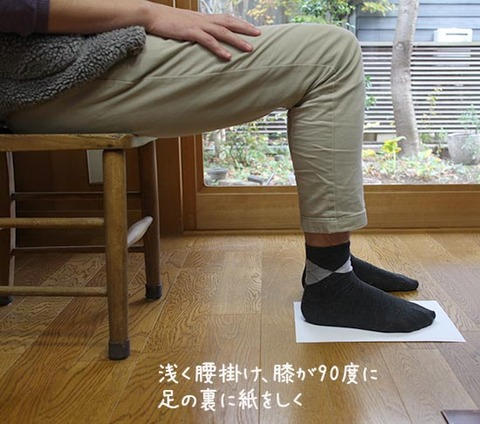 NHKあさイチ 足の測定 正しい靴サイズの調べ方 1