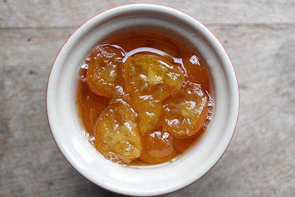 手作り 金柑 ゴロゴロジャム 作り方 レシピ