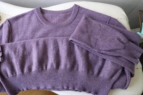 セーター 自宅で洗濯 ちぢまない方法 アイロン 2