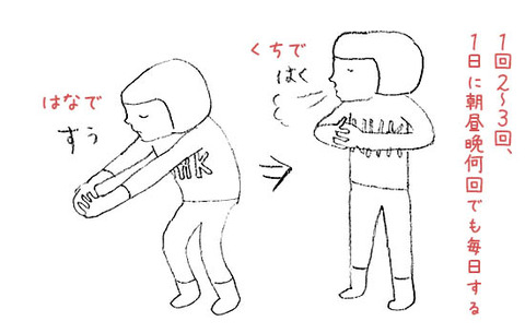 NHKガッテン 呼吸深くする方法 効果 1