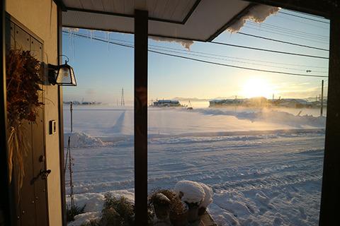 平野部 雲海 1月 大寒波 翌日 朝