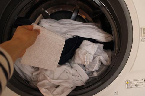 【洗濯物の色移り防止シート】 口コミ体験談 NHK紹介 4