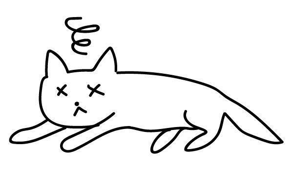 交通事故の猫 拾ってきた 知らない猫 庭に埋葬 ブログ