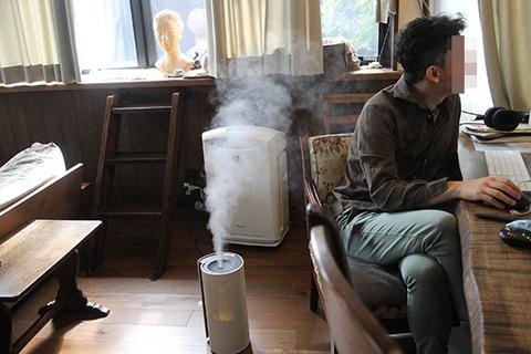 乾燥性鼻炎 超音波ハイブリット加湿器について