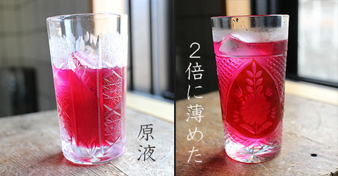 小梅ちゃん味 赤しそジュース 原液 薄め 両方 作り方