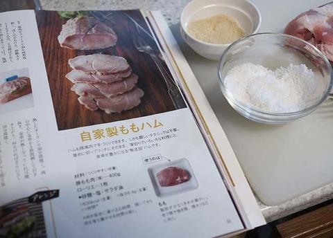 豚モモハム 手作りレシピ NHK今日の料理