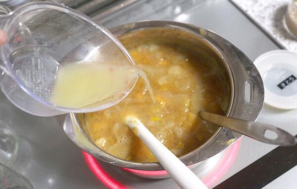 柿とレモンのジャム 作り方 レシピ