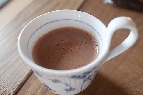 NHK ジャン・エヴァン ホットチョコ ショコラショ 作り方