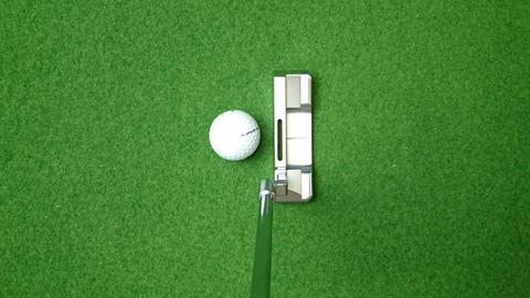 東邦ゴルフSCパター構えた感じ