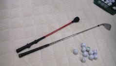 素振り用の棒とSW