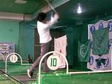 シチズンプラザでゴルフ練習