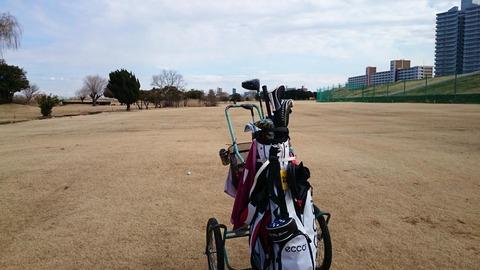 赤羽ゴルフ倶楽部で練習ハーフラウンド