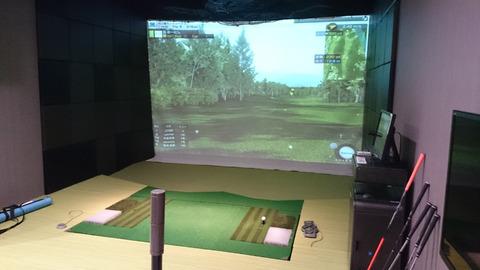 インゴルフの個室VIP打席