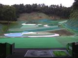 佐野ゴルフガーデン打席からの景観