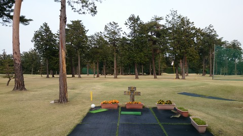芦刈ゴルフコース2番ホール