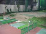 公和ゴルフセンターのバンカー練習場