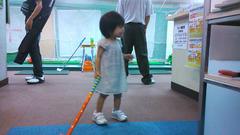杏仁花とゴルフスクール
