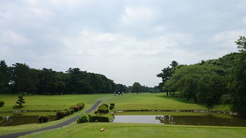 八千代ゴルフクラブ8番ホール