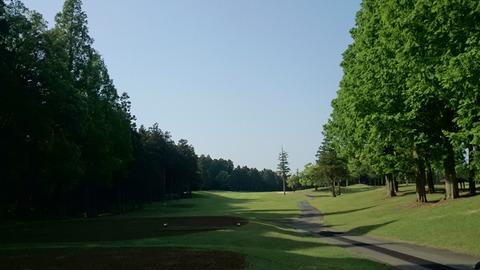 阿見ゴルフクラブIN17番