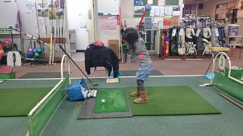 子供に学ぶゴルフスイング習得方法 (2)